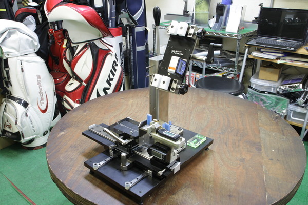 最新ゴルフクラブアングル測定器導入サムネイル